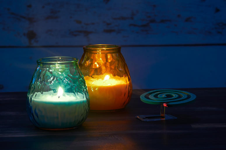 DIY Mosquito Candles