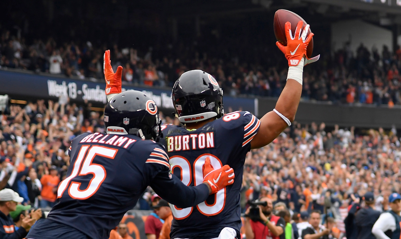 buy online c66b7 be862 Trey Burton Trusting Bears' Plan With Health | 670 The Score