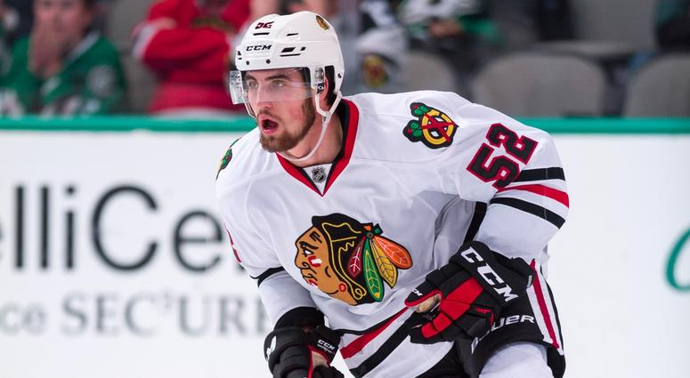 hot sales 071a2 68979 Blackhawks Sign Erik Gustafsson To 2-Year Extension | 670 ...