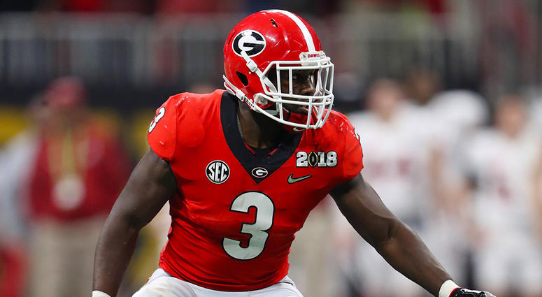 new product 036ca 361d1 Bears Select Georgia LB Roquan Smith At No. 8 Overall | 670 ...