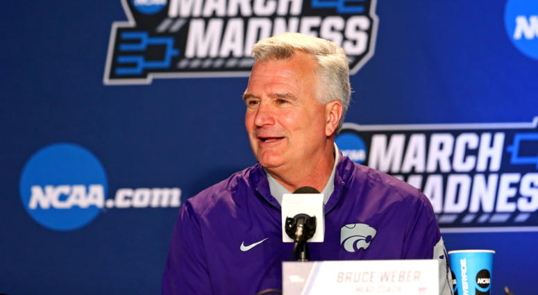 Kansas State head coach Bruce Weber