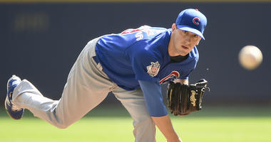 Cubs right-hander Kyle Hendricks