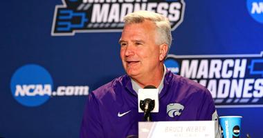 Kansas State head coach Bruce Weber