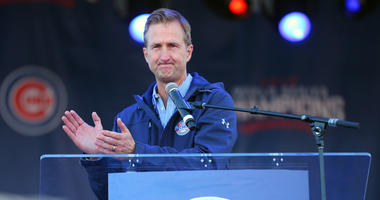 Cubs president of business operations Crane Kenney