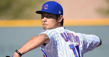 Cubs right-hander Yu Darvish