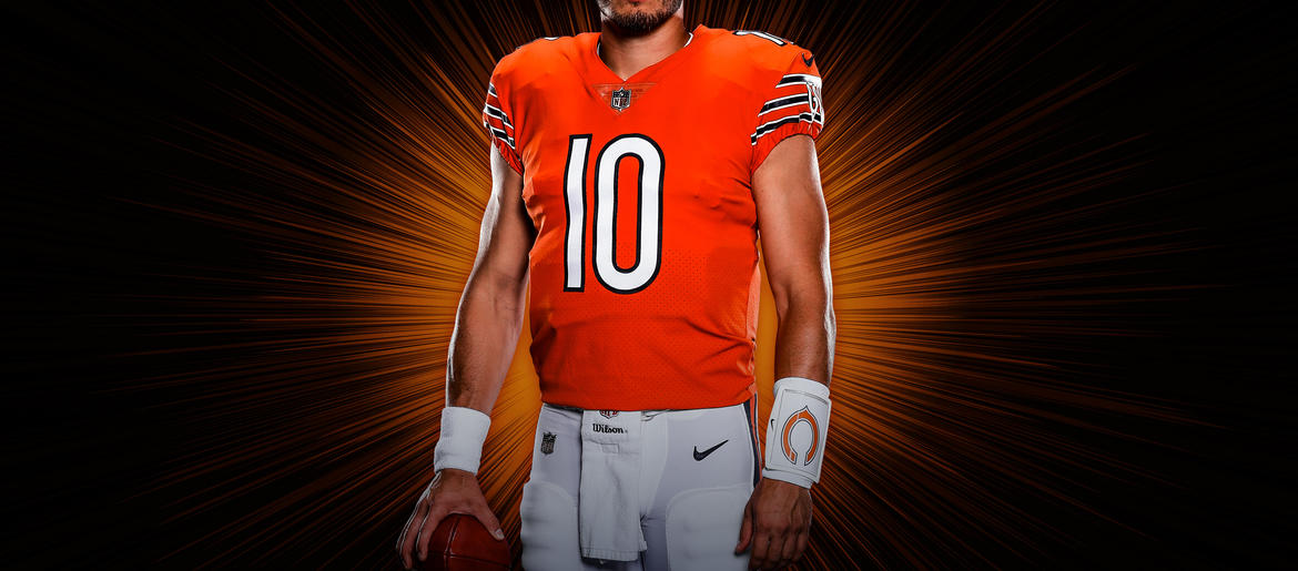 half off f7f23 e55af Bears Unveil New Orange Alternate Jersey | 670 The Score