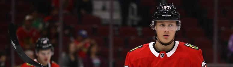 Blackhawks defensive prospect Adam Boqvist