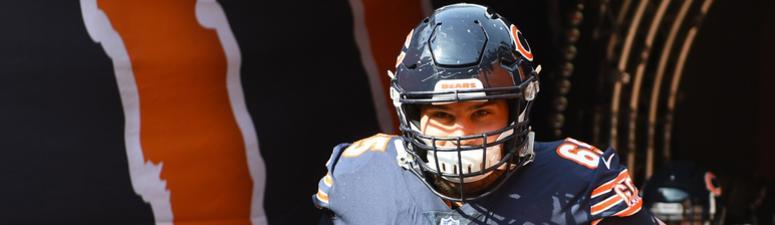 Bears offensive lineman Cody Whitehair