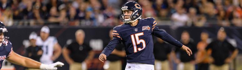 Bears kicker Eddy Pineiro