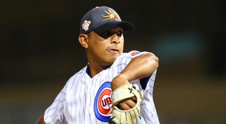 Cubs right-hander Adbert Alzolay