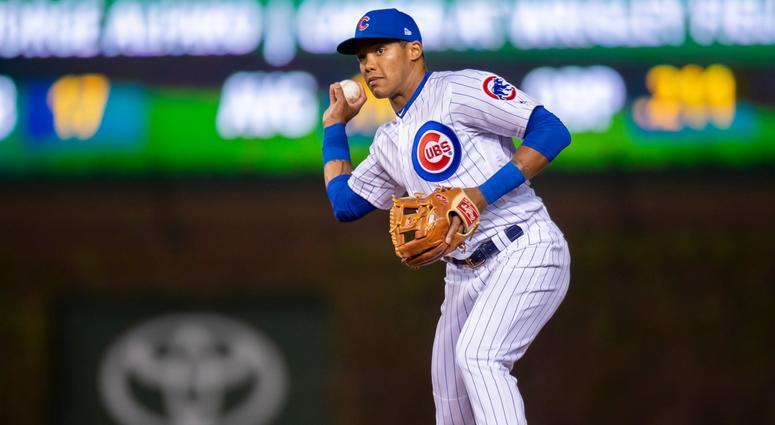 Cubs infielder Addison Russell