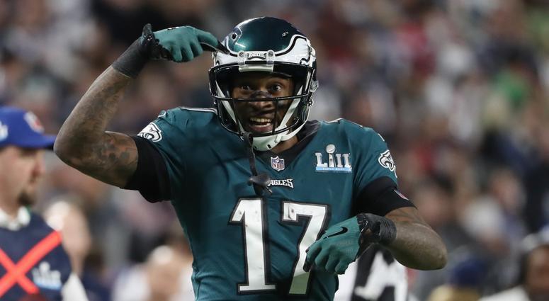 Eagles receiver Alshon Jeffery