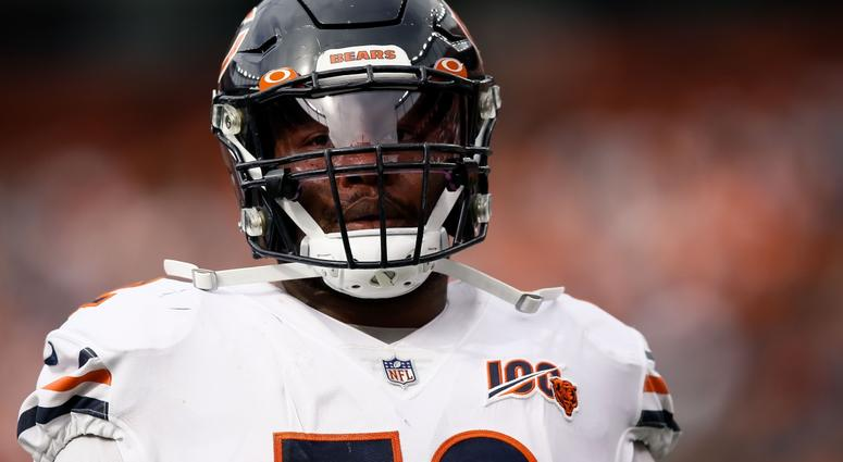 Bears offensive tackle Charles Leno Jr.