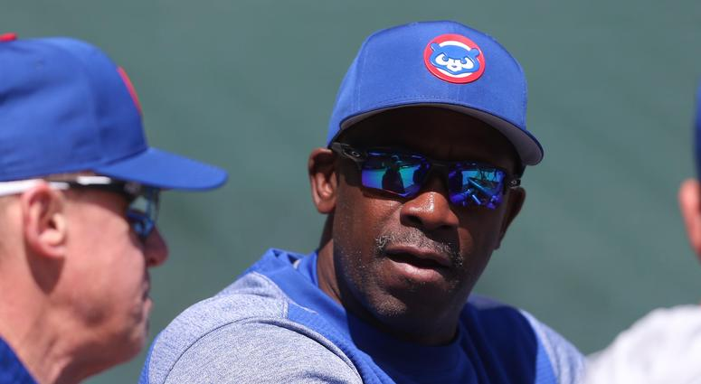 Cubs hitting coach Chili Davis