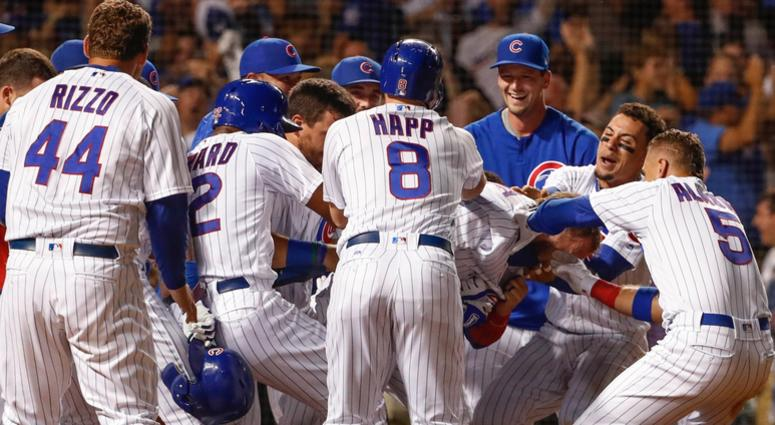 uk availability 027e9 ee432 Albert Almora Jr.: David Bote's Journey, Work Ethic Is ...