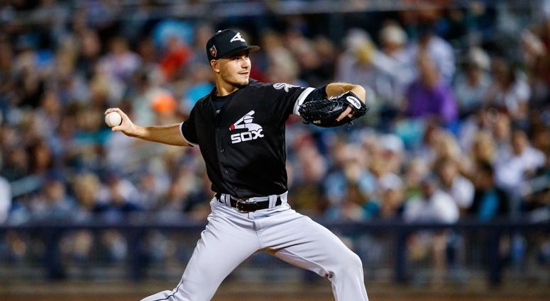 White Sox pitching prospect Dylan Cease