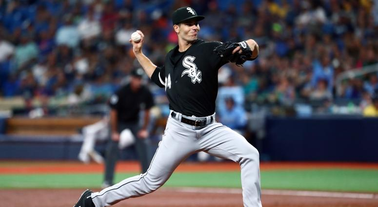 White Sox right-hander Dylan Cease