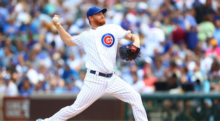 Cubs right-hander Eddie Butler