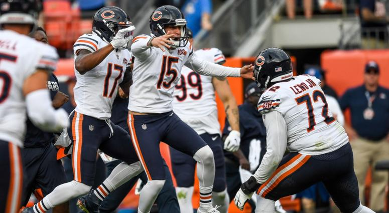 Pineiro's Last-Second FG Lifts Bears Past Broncos
