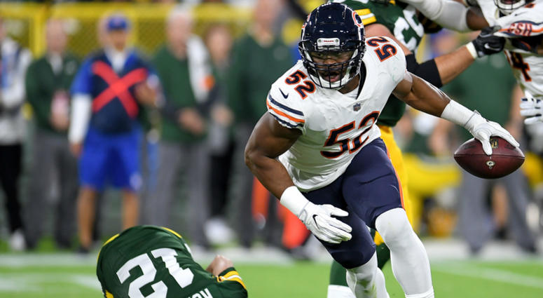 sports shoes 670f7 890ea Behind Khalil Mack's Arrival With The Bears: 'I Want To Be ...