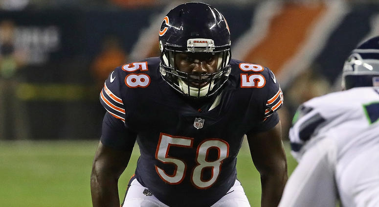 sports shoes d6ac7 c4cd7 Bears Rookie Roquan Smith Off To High-Flying Start | 670 The ...
