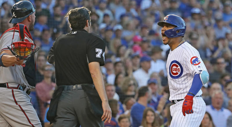 Willson Contreras At Center Of Fireworks In Cubs' Win