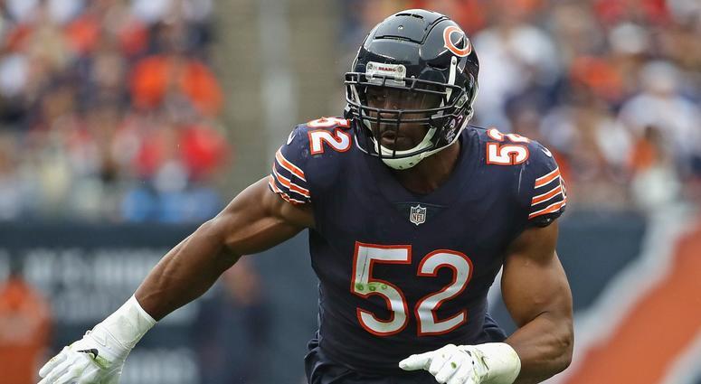 Bears outside linebacker Khalil Mack