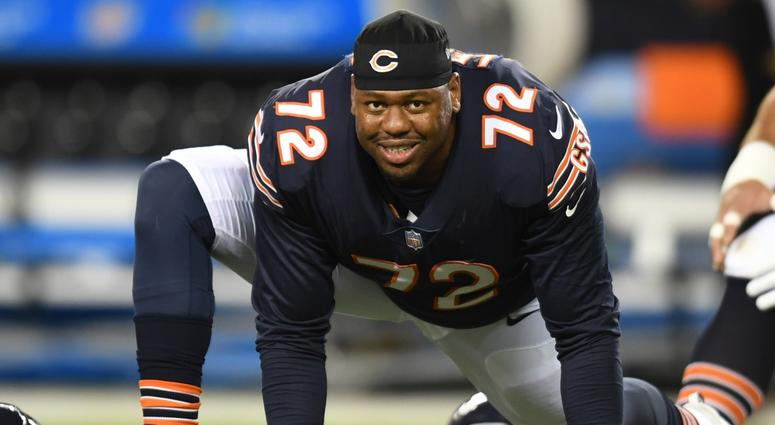 Bears offensive tackle Charles Leno Jr.