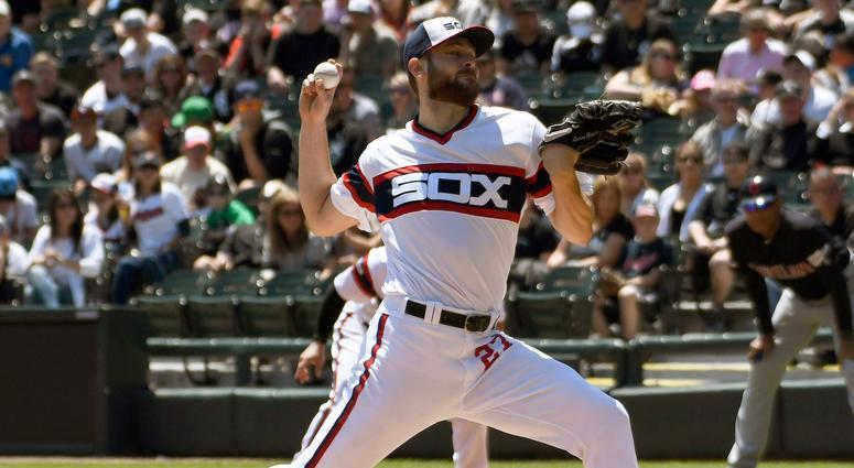 White Sox right-hander Lucas Giolito