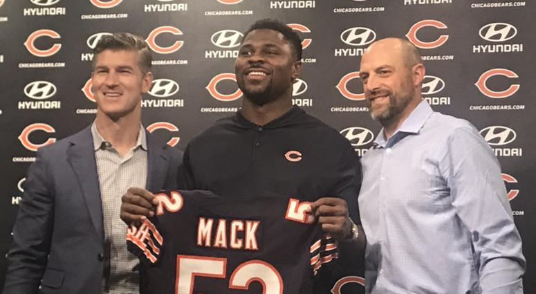 reputable site af98f e2b19 Khalil Mack's Bears Jersey Among Top Sellers | 670 The Score