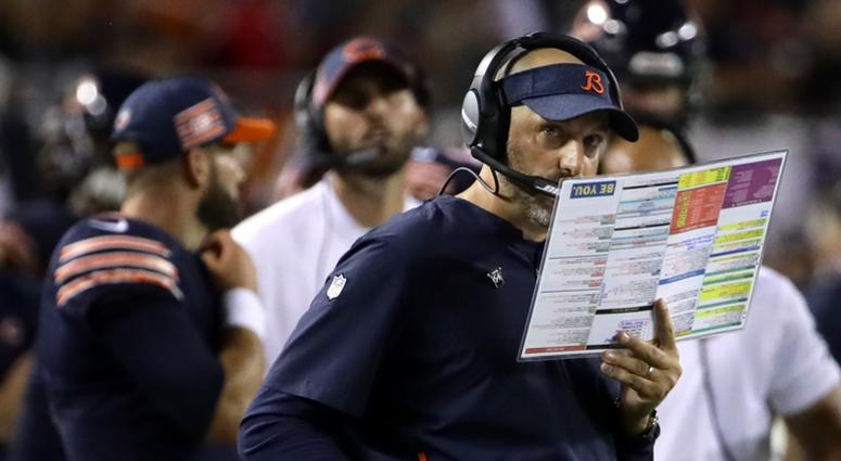 Bears coach Matt Nagy
