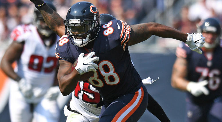 Bears tight end Dion Sims