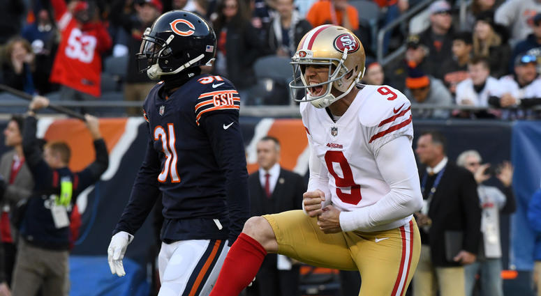 wholesale dealer 95d94 cb307 Robbie Gould Seeking Stability For Family, A Winning Team In ...