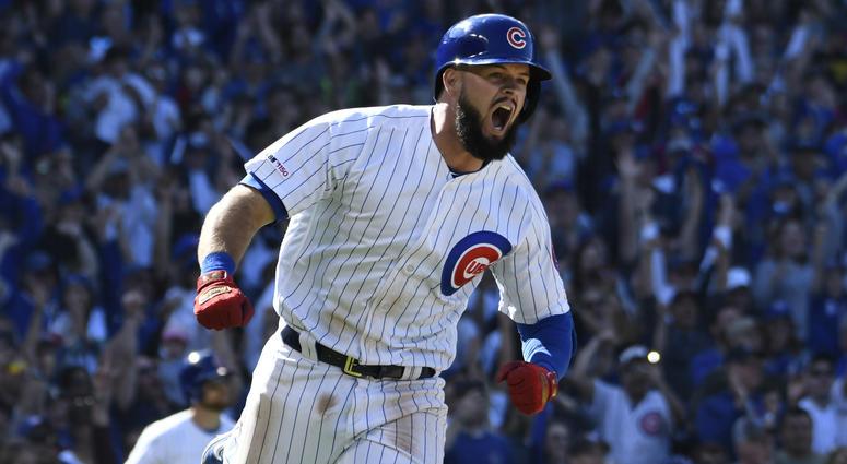Cubs infielder David Bote
