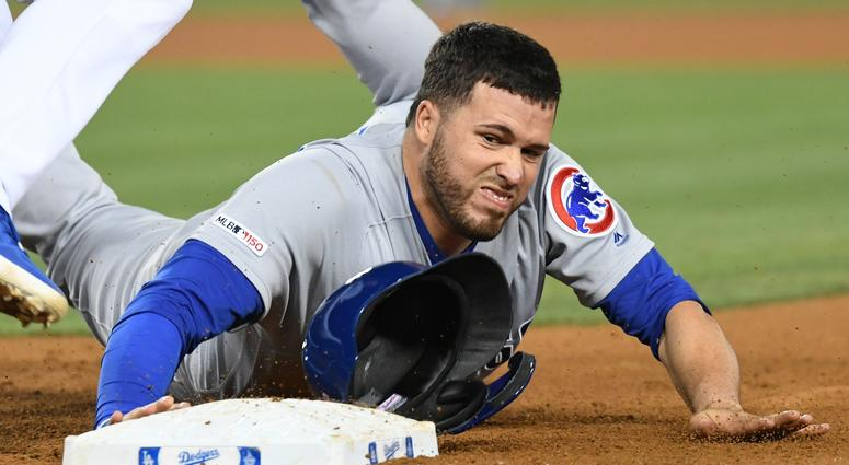 Cubs catcher Victor Caratini