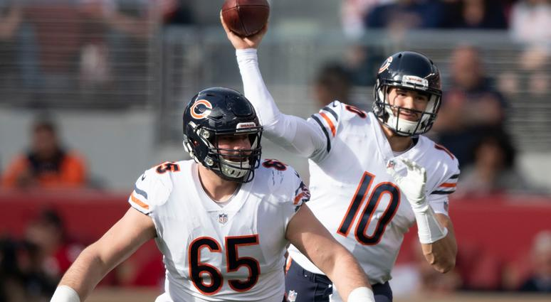 Bears Offensive Line 'Taking Turns Making A Mistake'