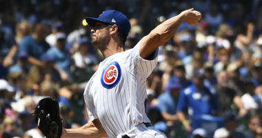 Cubs left-hander Cole Hamels
