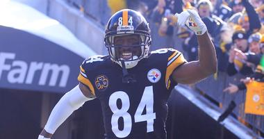 Steelers receiver Antonio Brown