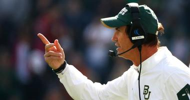 Art Briles while coaching Baylor in 2015