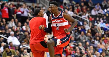 Wizards forward Bobby Portis (5)