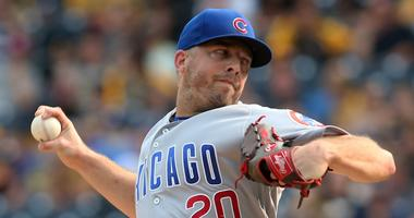 Cubs reliever Brandon Kintzler