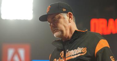 Giants manager Bruce Bochy