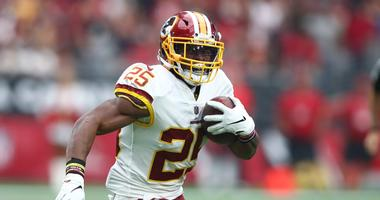 Redskins running back Chris Thompson