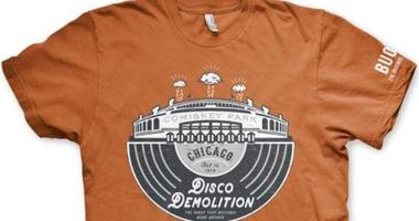 The White Sox are handing out T-shirts to commemorate the fateful Disco Demolition night in 1979.