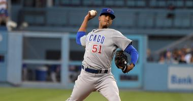 Cubs right-hander Duane Underwood