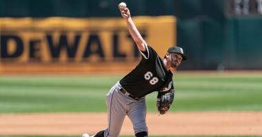 White Sox right-hander Dylan Covey
