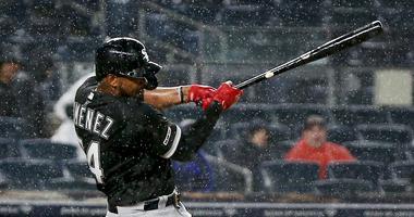 White Sox outfielder Eloy Jimenez