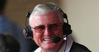 White Sox broadcaster Hawk Harrelson