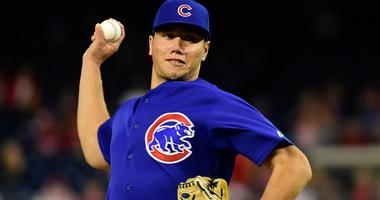 Cubs right-hander James Norwood