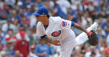 Cubs right-hander Jesse Chavez
